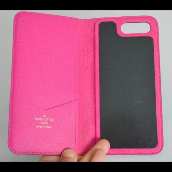 029b9ecfb2 Authentic Louis Vuitton pink IPhone 7/8 plus case